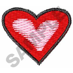 HEART embroidery design