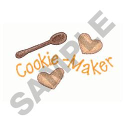 COOKIE MAKER embroidery design
