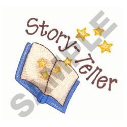 STORY TELLER embroidery design