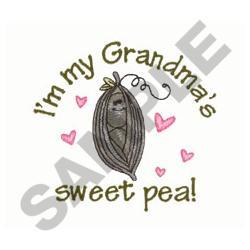 GRANDMAS SWEET PEA embroidery design