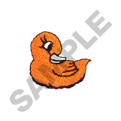 DUCK embroidery design