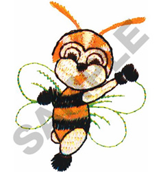 BOXING BEE embroidery design