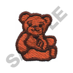 SMALL TEDDY BEAR embroidery design