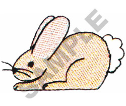 COTTON TAIL  BUNNY embroidery design