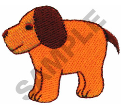 DOGGY embroidery design