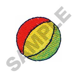 BEACH BALL embroidery design