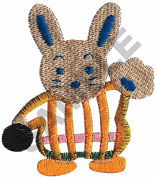 BUNNY PITCHER embroidery design