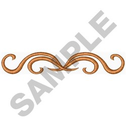 Scroll Design embroidery design