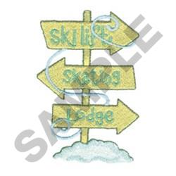ROAD SIGNS embroidery design