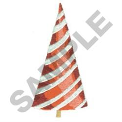 PEPPERMINT CHRISTMAS TREE embroidery design