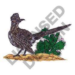 ROADRUNNER embroidery design