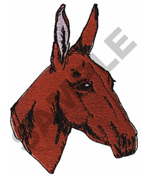 DONKEY embroidery design