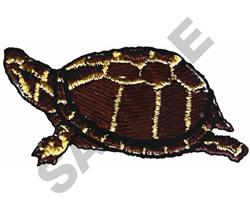 MUD TURTLE embroidery design