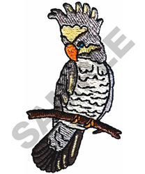 COCKATIEL embroidery design