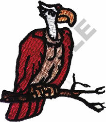 VULTURE embroidery design