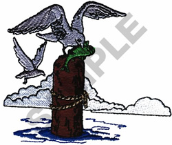 SEAGULL SCENE embroidery design