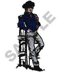 COWGIRL embroidery design