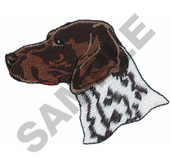 GERMAN SHORTHAIRED embroidery design