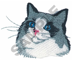 RAG DOLL CAT embroidery design