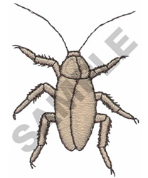 COCKROACH embroidery design