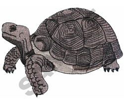 ROCK TURTLE (SNAPPING) embroidery design