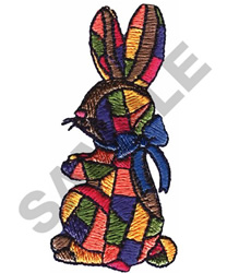 PATCHWORK BUNNY embroidery design