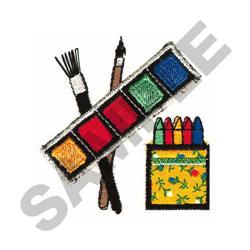 ART SUPPLIES embroidery design