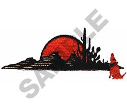 SOUTHWEST SCENE embroidery design