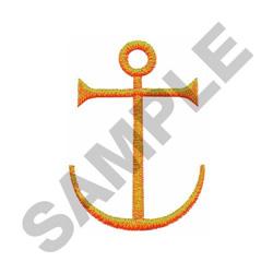 ANCHOR CROSS embroidery design