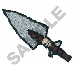 SPEAR HEAD embroidery design