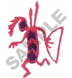 PETROGLYPH WARRIOR embroidery design