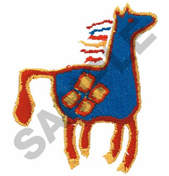 INDIAN HORSE DESIGN embroidery design