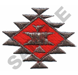 NAVAJO DIAMOND embroidery design