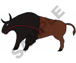 NAVAJO BUFFALO embroidery design