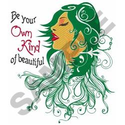 Own Kind Of Beautiful embroidery design