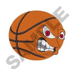 Aggressive Basketball embroidery design