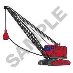 Wrecking Ball embroidery design