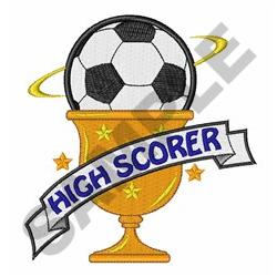 High Scorer embroidery design