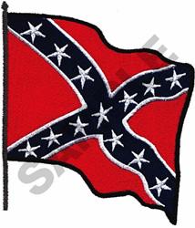 REBEL FLAG embroidery design