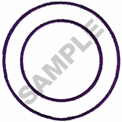 CIRCLE #054 embroidery design