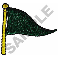 PENNANT FLAG embroidery design
