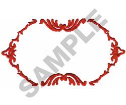 BORDER #556 embroidery design
