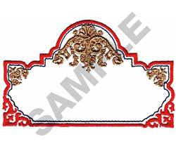 SCROLL BOX embroidery design