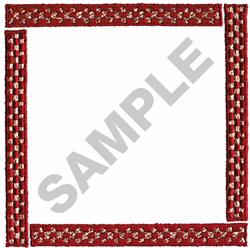 COUNTRY BORDER SQUARE embroidery design