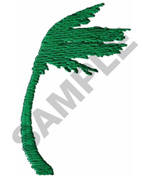 WINDY PALM TREE embroidery design