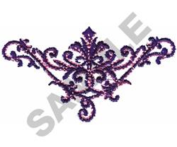 FASHION SCROLL embroidery design