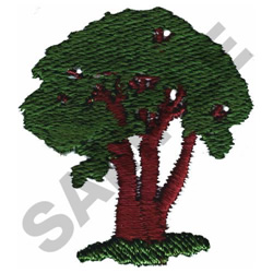 OLD TREE embroidery design