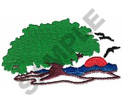 TREE SCENE embroidery design