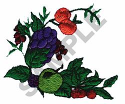 FRUIT VINE embroidery design
