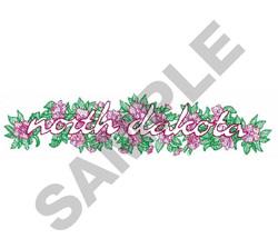 WILD PRAIRIE ROSE BORDER embroidery design
